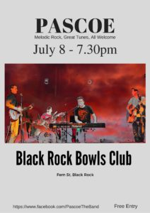 Pascoe - Band @Black Rock Bowls Club-2