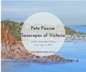 Pete Pascoe - Seascapes Exhibition - Sept 2015