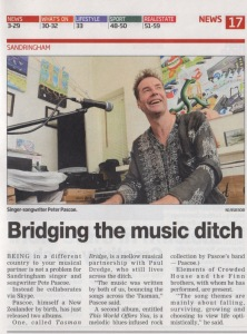 Pete Leader News- Tasman Bridge Nov 6 2012