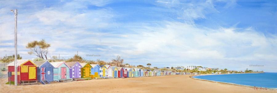 69. Beachboxes Lampost wp©PetePascoe