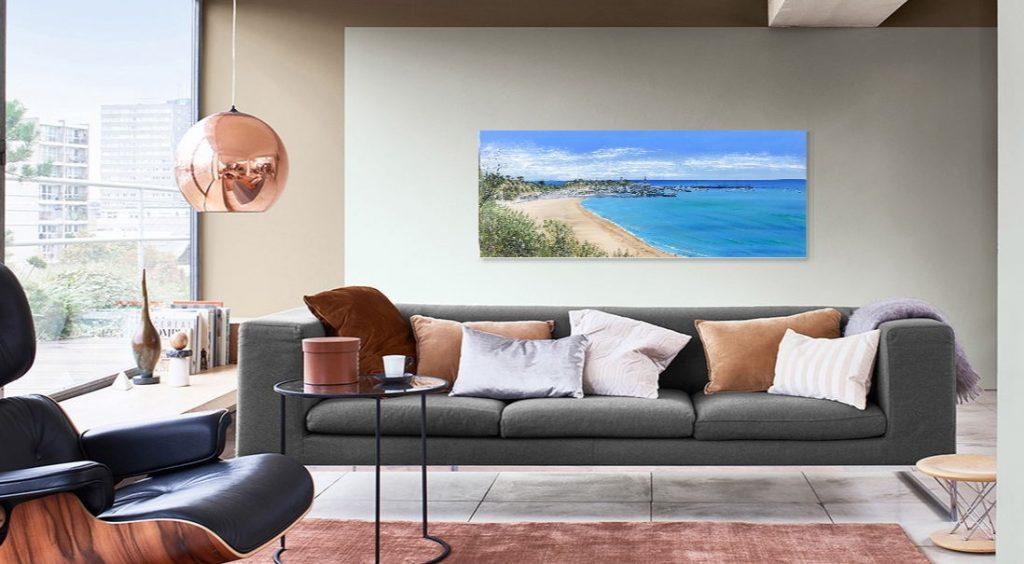 Mornington Pier 150cm x 60cm on the wall